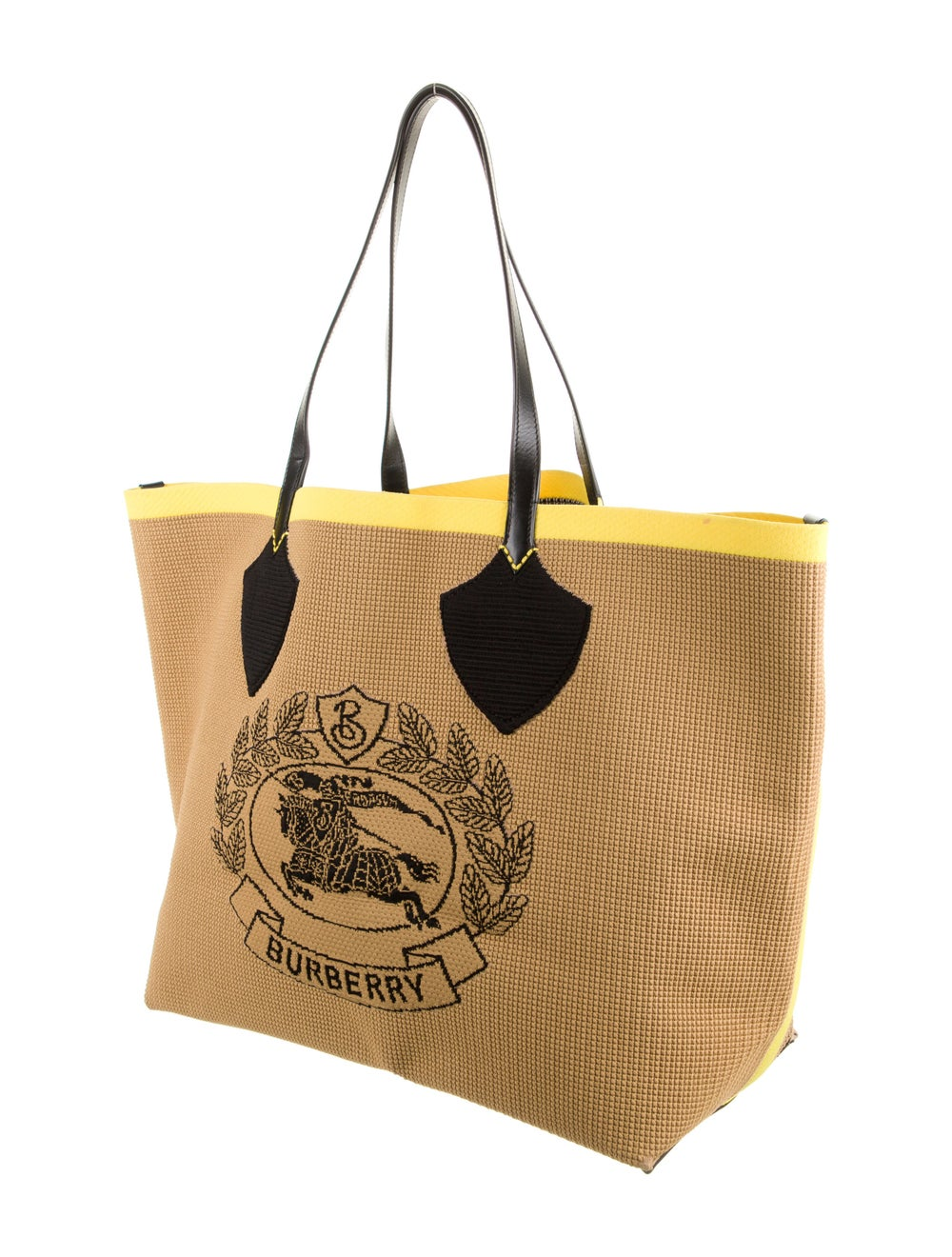 Burberry Large Logo Woven Tote - image 3
