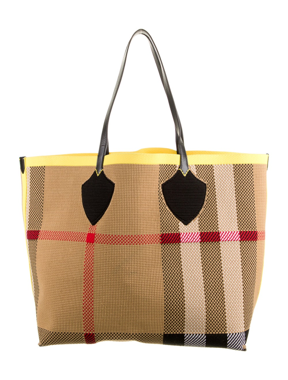 Burberry Large Logo Woven Tote - image 4
