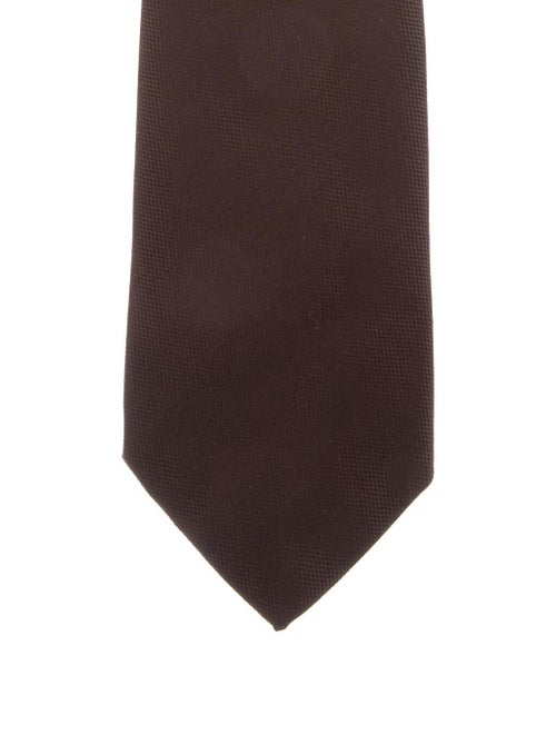 Burberry Silk Woven Tie brown