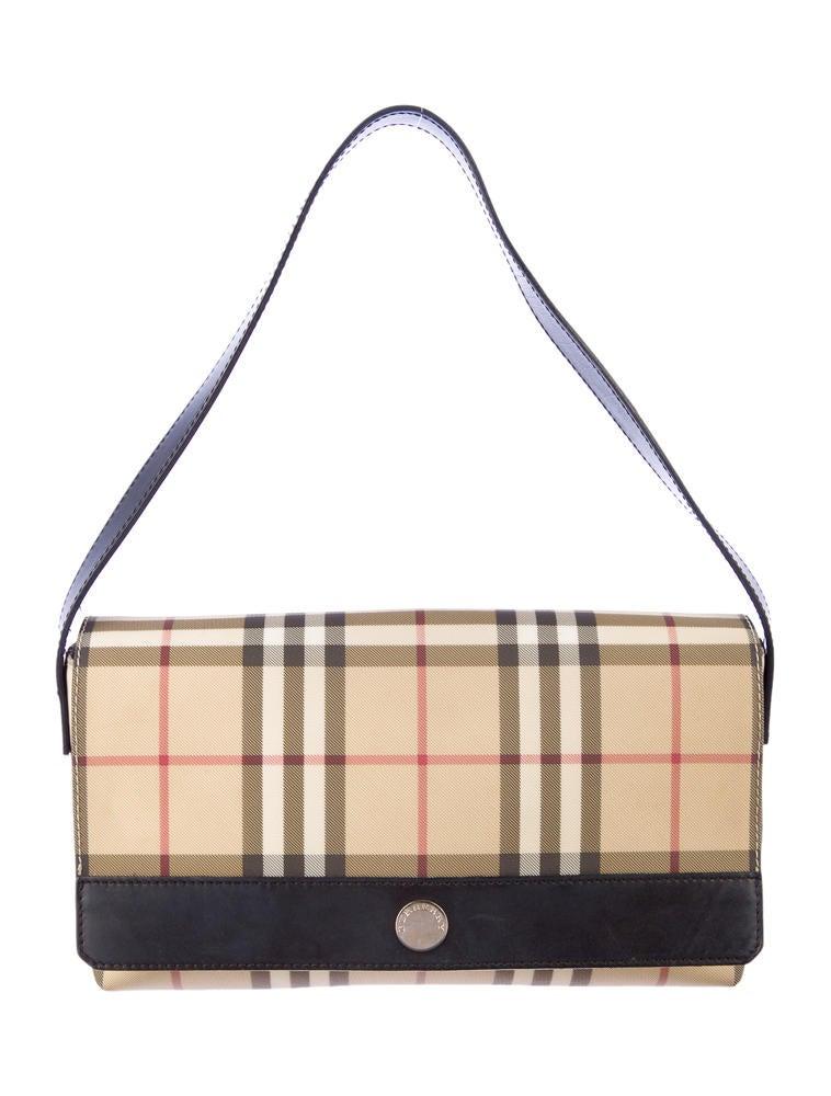 Burberry Nova Check Baguette - Handbags - BUR25940 | The ...