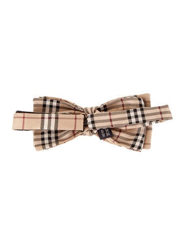Burberry Bow Tie Suiting Accessories Bur30428 The