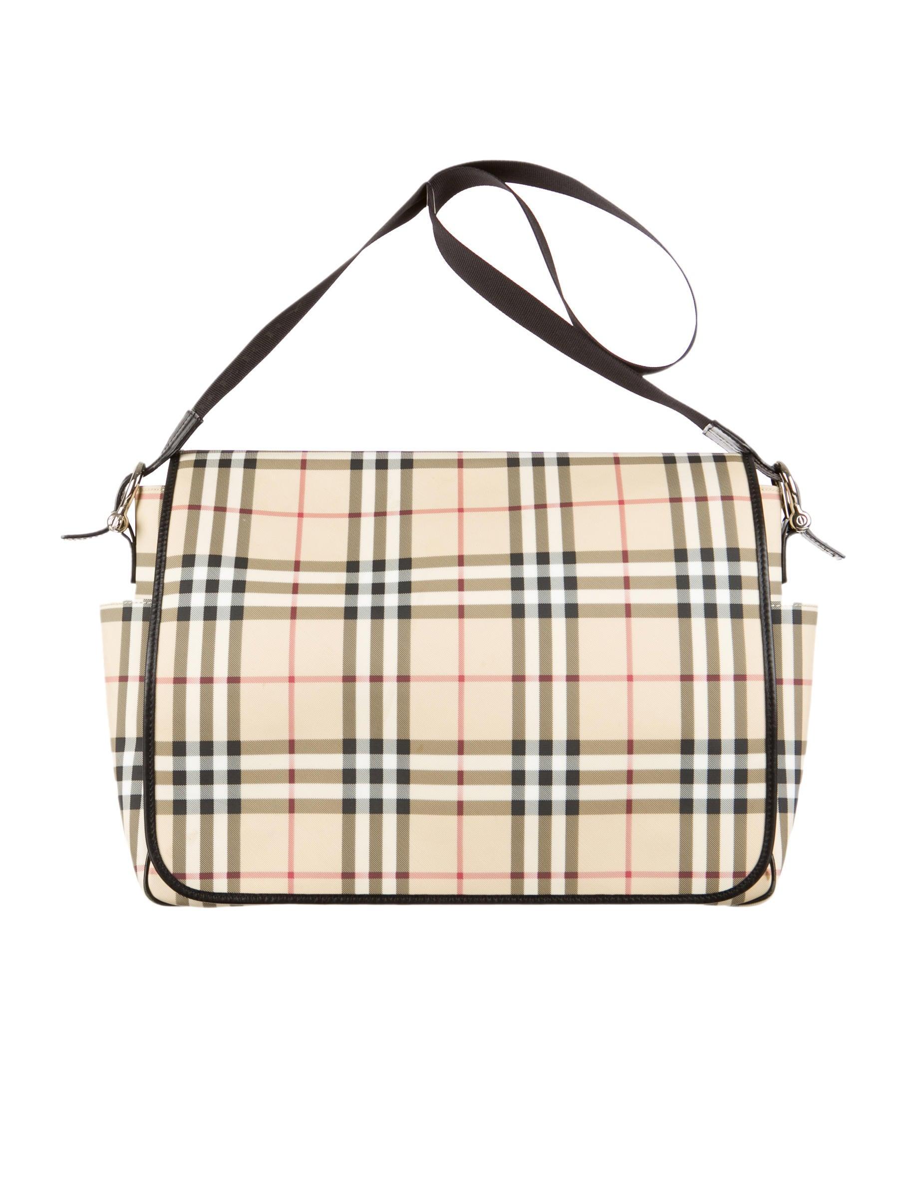 Burberry Nova Check Messenger Bag - Bags - BUR33641 | The ...
