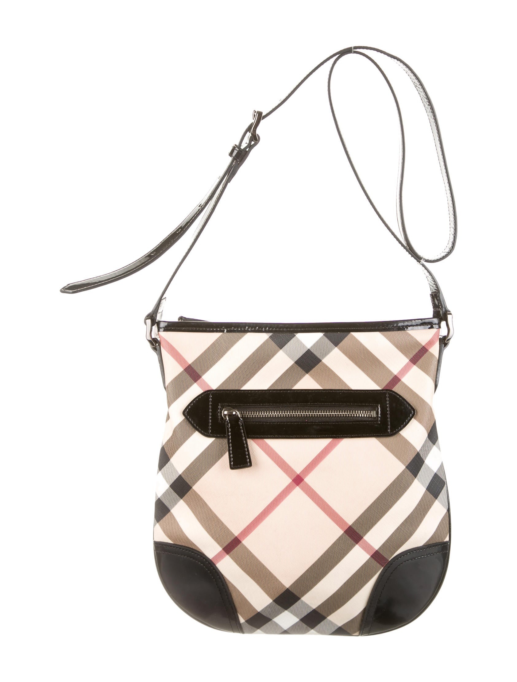 fcd2f91120c Burberry Nova Check Dryden Crossbody Bag - Handbags - BUR38331 | The ...