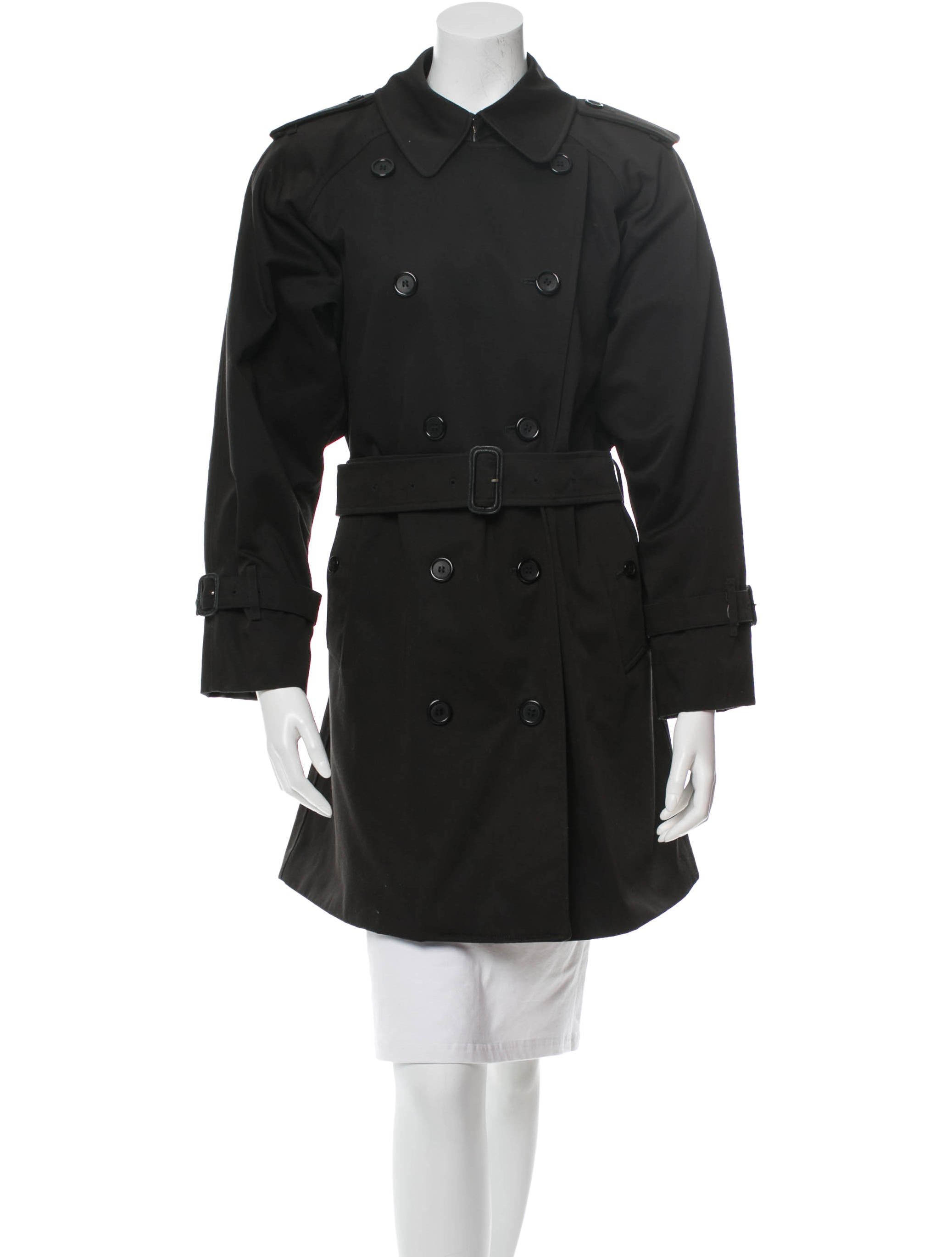 burberry trench coat clothing bur39613 the realreal. Black Bedroom Furniture Sets. Home Design Ideas