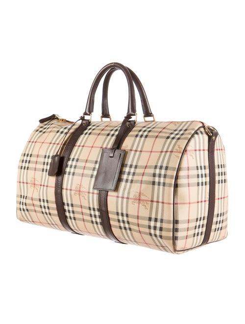 99ff1c19bce1 Burberry Haymarket Duffle Bag - Bags - BUR40812