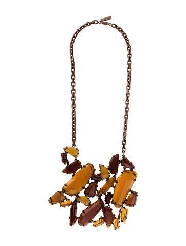 Burberry Geometric Gem Necklace
