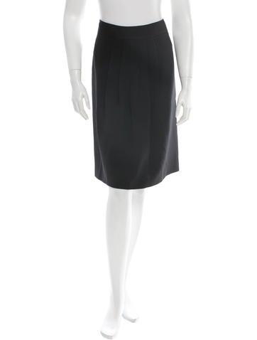 Burberry Pleated Skirt