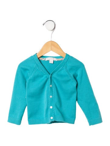 Burberry Girls' V-Neck Cardigan None