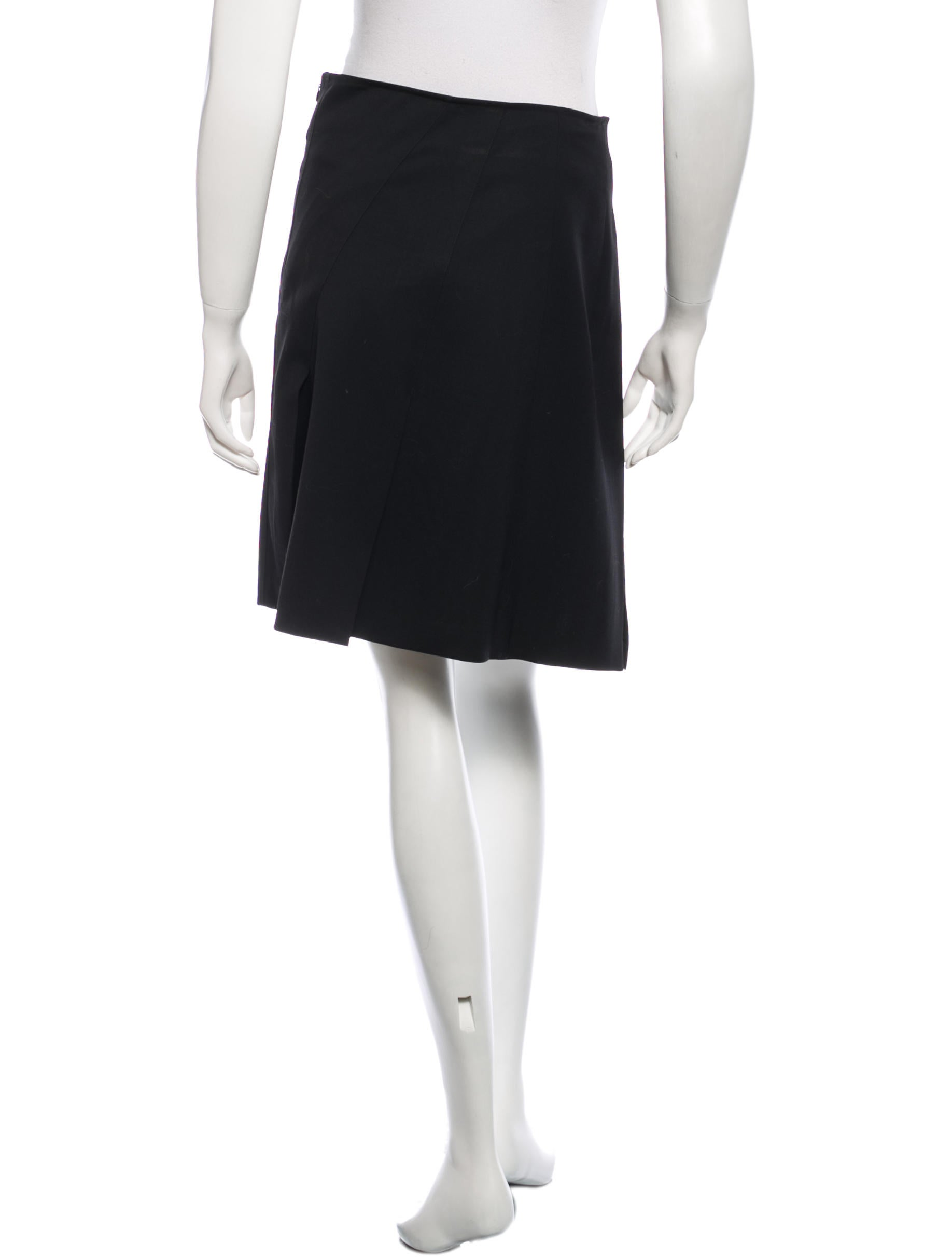burberry pleated mini skirt clothing bur42536 the