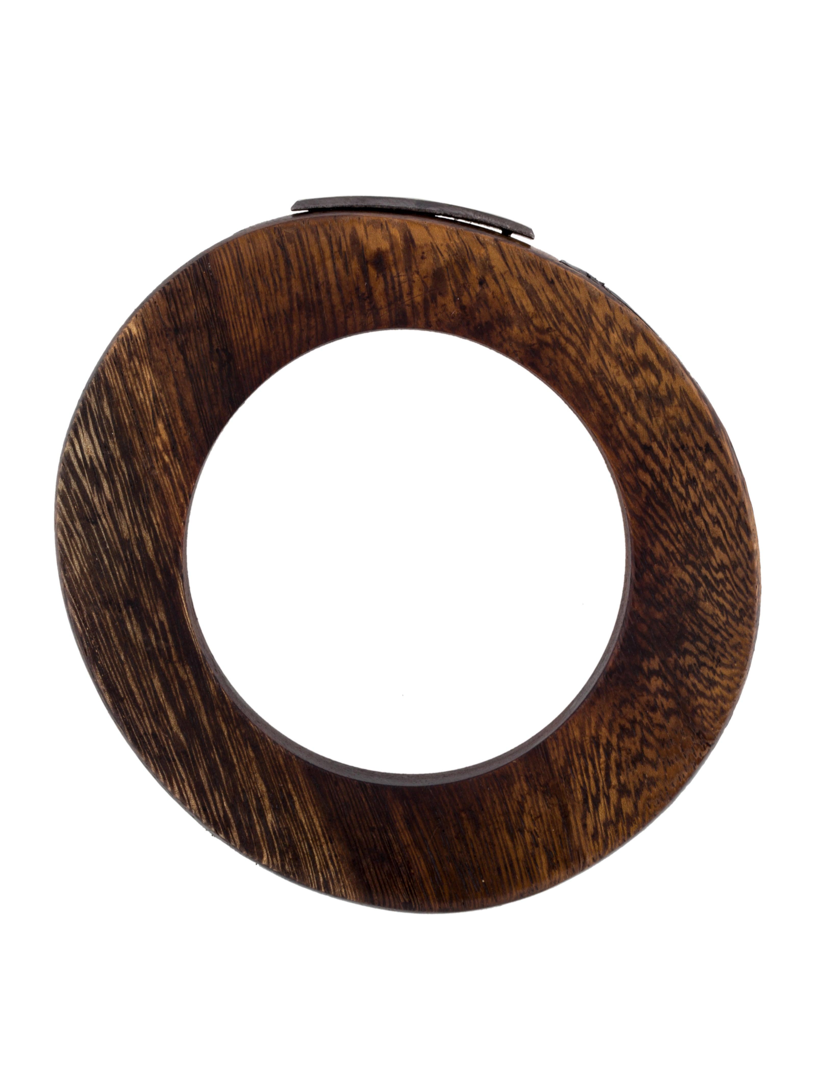 burberry wooden bangle bracelets bur45417 the realreal