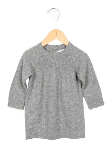 Burberry Girls' Cashmere Long Sleeve Dress w/ Tags None