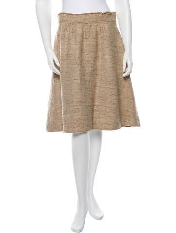 Burberry London A-Line Skirt
