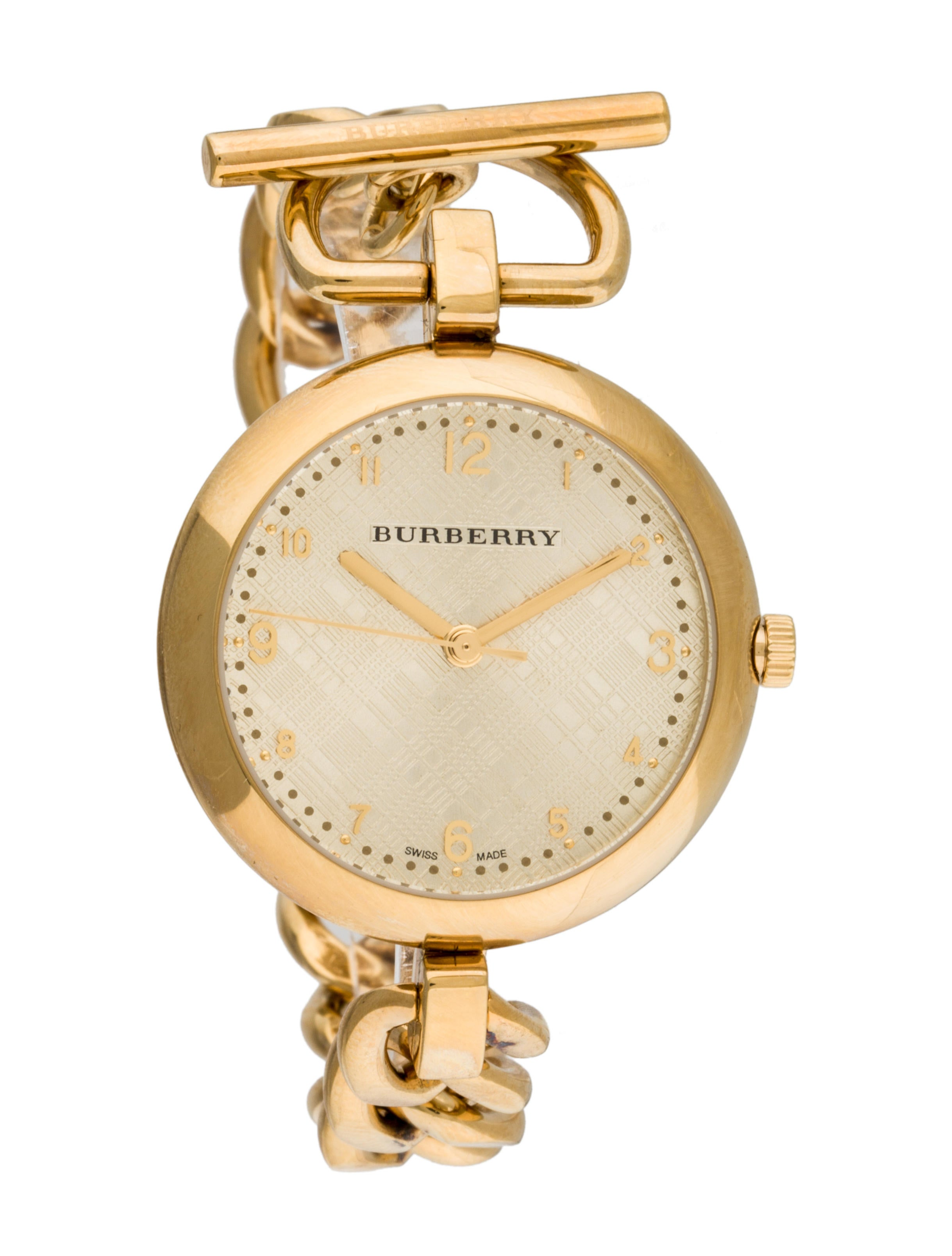 burberry chain watch
