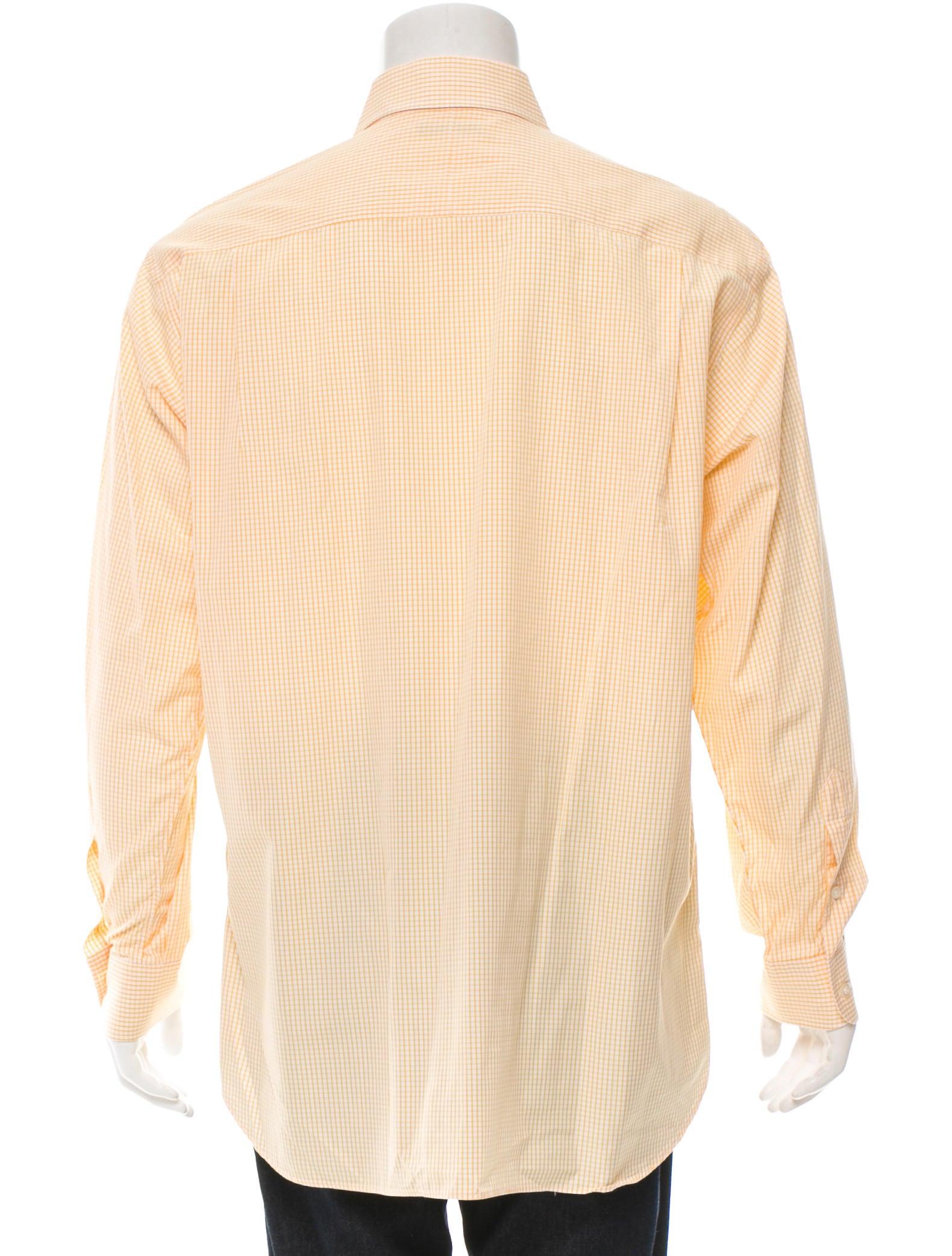 Burberry Long Sleeve Button Up Shirt Clothing Bur53146