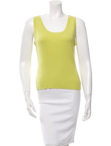 Burberry Knit Sleeveless Top None