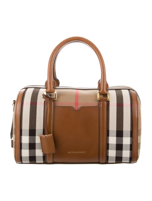 35e002511569 Burberry House Check Sartorial Medium Alchester Bowling Bag ...