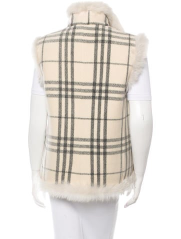 Wool & Shearling Reversible Vest