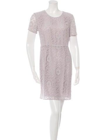Burberry Crocheted Sheath Dress