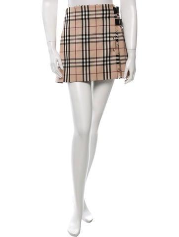 Nova Check Pleated Skirt