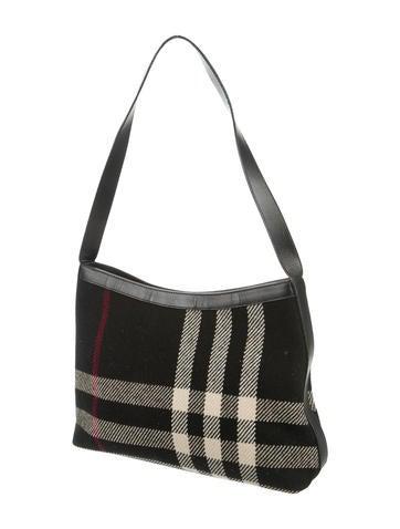 House Check Shoulder Bag