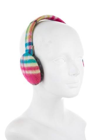 Cashmere Plaid Earmuffs