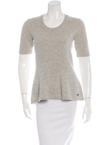 Burberry Cashmere Knit Top None