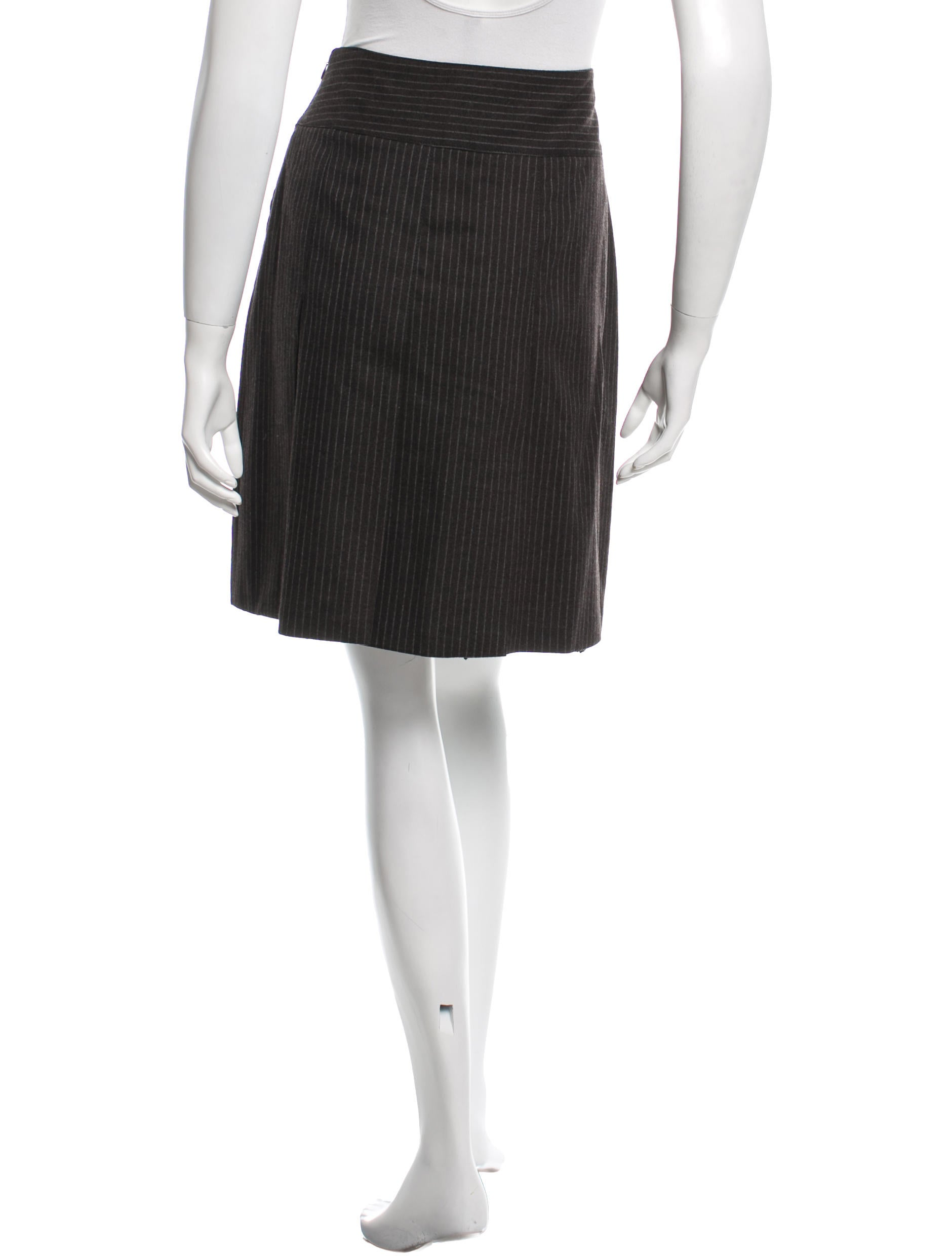 burberry wool pleated skirt clothing bur59253 the
