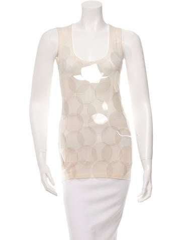 Burberry Sleeveless Embellished Top None