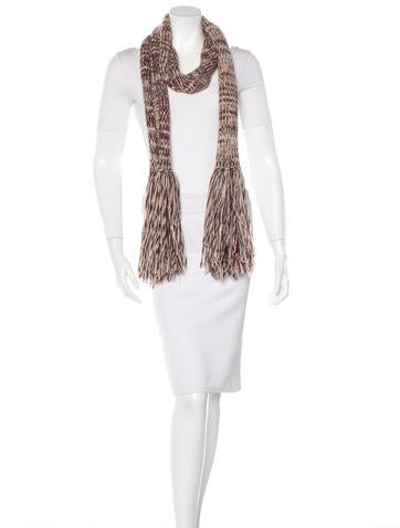 Knitting Pattern Burberry Scarf : Burberry Cashmere Knit Scarf - Accessories - BUR60236 The RealReal