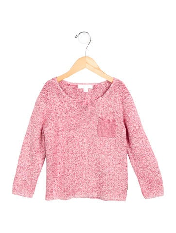 Burberry Girls' Knit Long Sleeve Sweater None