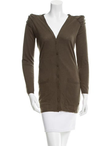 Burberry Cashmere Knit Cardigan None