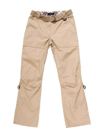 Unique Relaxed Fit Straight Leg Cargo Pant With Belowed Cargo Pockets Multi