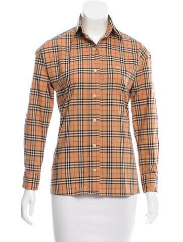 Burberry House Check Top None