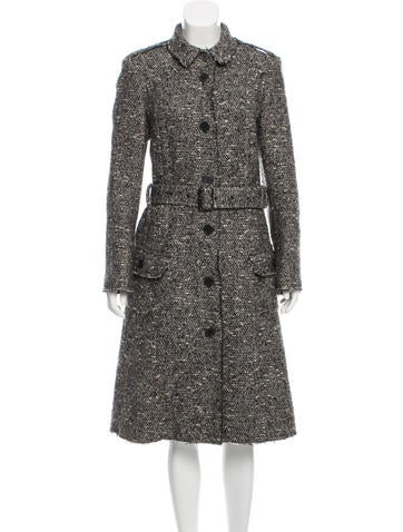 Burberry Wool Belted Coat