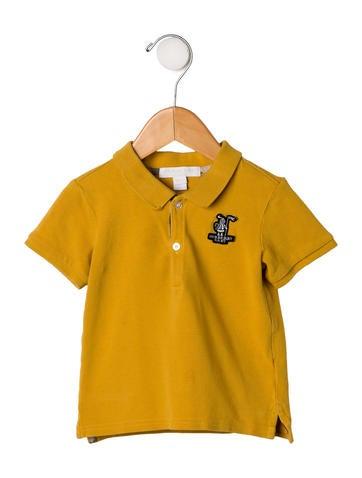 Burberry Boys' Knit Polo Top None