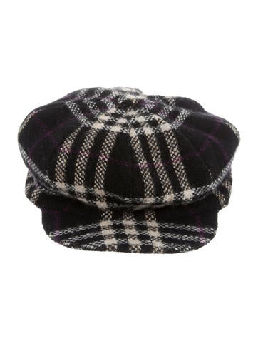 Wool Nova Check Cap