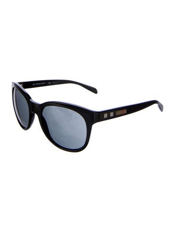 Nova Check-Trimmed Sunglasses