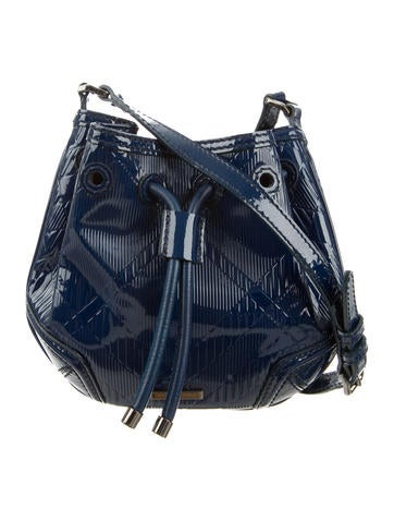 Burberry Nova Check Embossed Crossbody Bag None