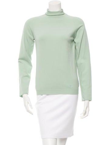 Burberry Long Sleeve Turtleneck Sweater None