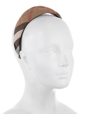 Quilted House Check Headband