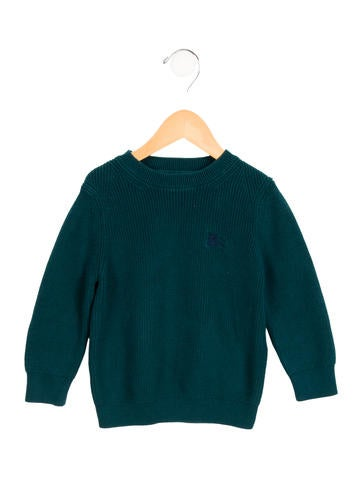 Burberry Boys' Knit Long Sleeve Sweater None