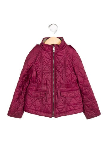 Burberry Girls' Lightweight Quilted Jacket None