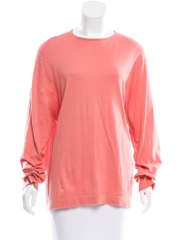 Burberry Long Sleeve Knit Top None