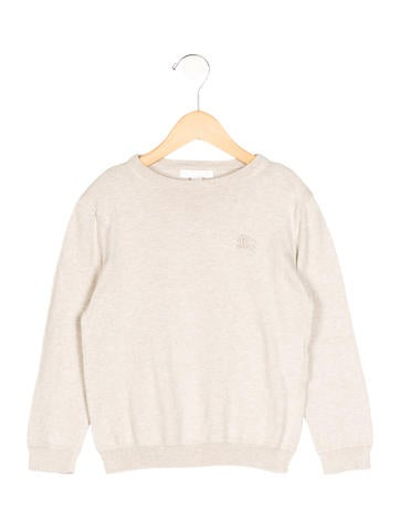 Burberry Boys' Rib Knit Long Sleeve Sweater None