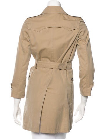 Boys'  Single-Breasted Trench Coat