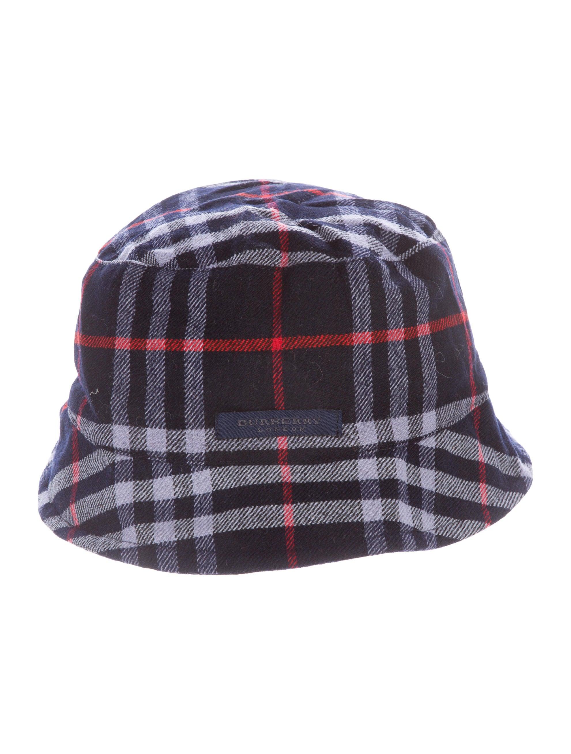 Burberry Boys' Reversible Bucket Hat w/ Tags BUR67255 ...
