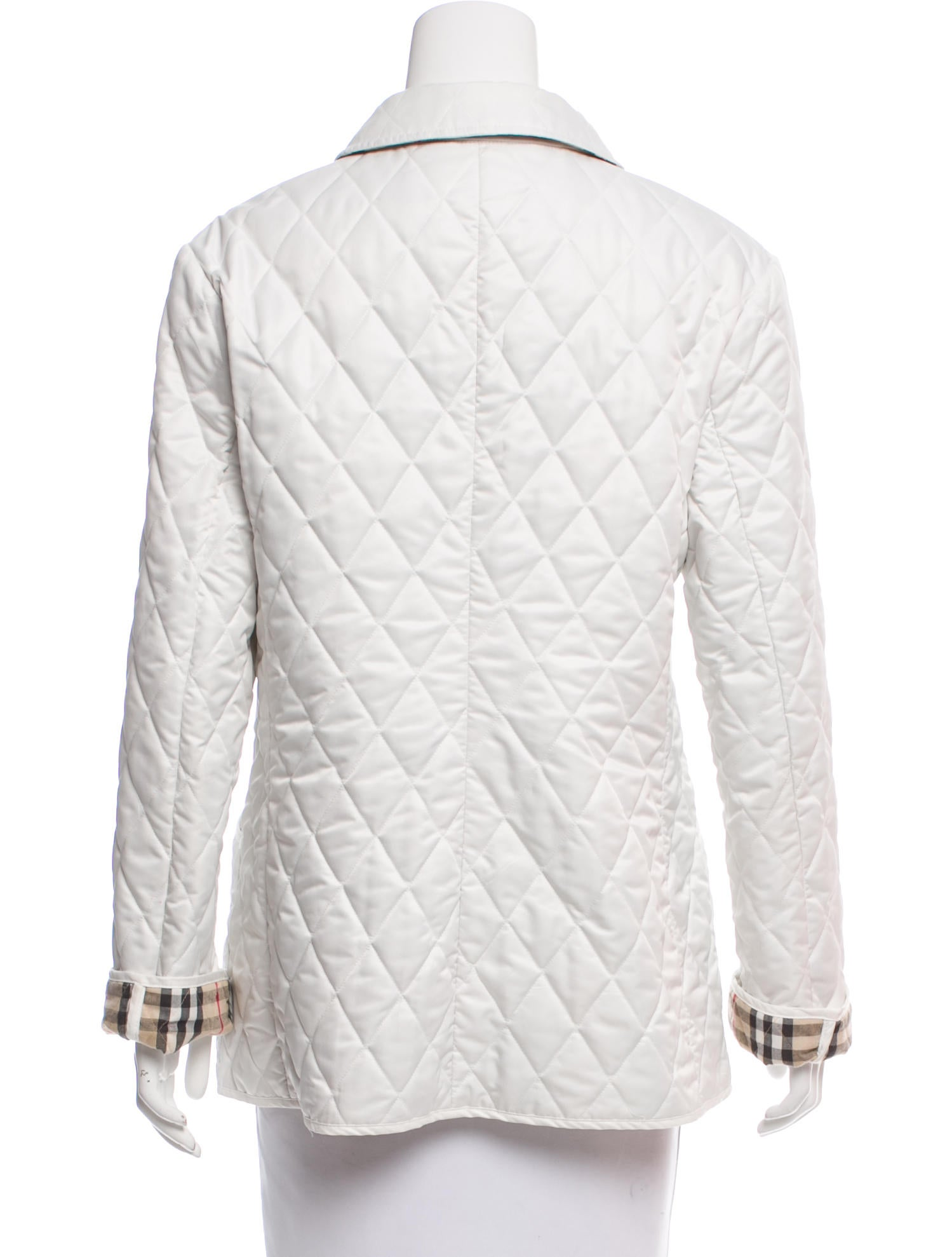 Burberry Quilted Lightweight Jacket Clothing Bur67378