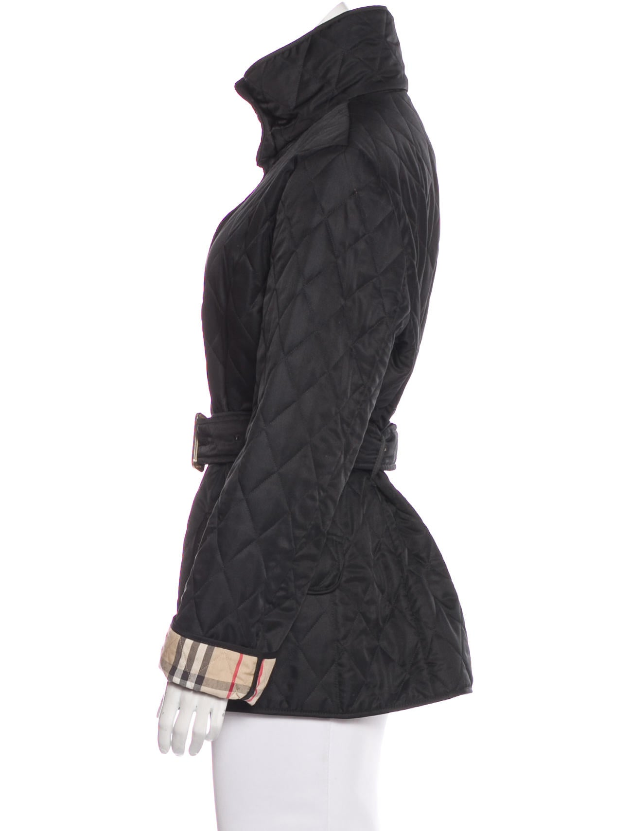 Burberry Short Quilted Jacket - Clothing