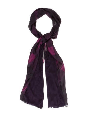Loganberry Check Scarf w/ Tags