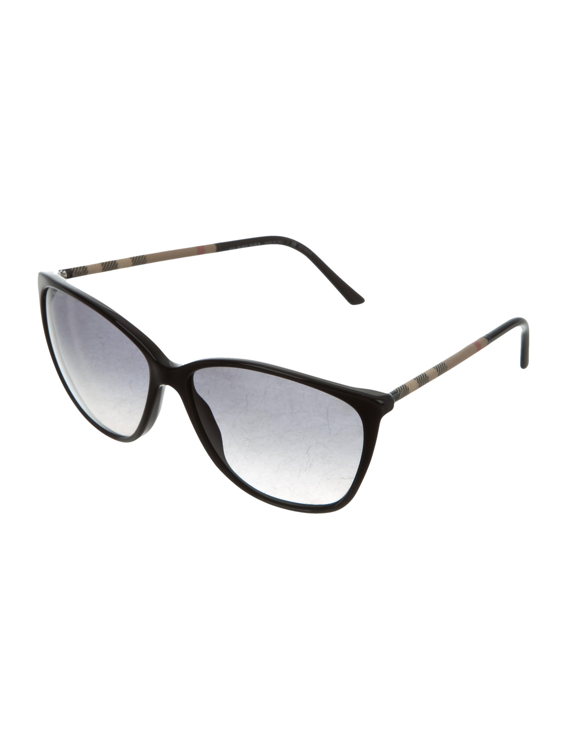 0413c915bc Burberry Nova Check Cat-Eye Sunglasses - Accessories - BUR67882